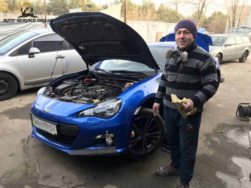 Востановление авто после ДТП 1