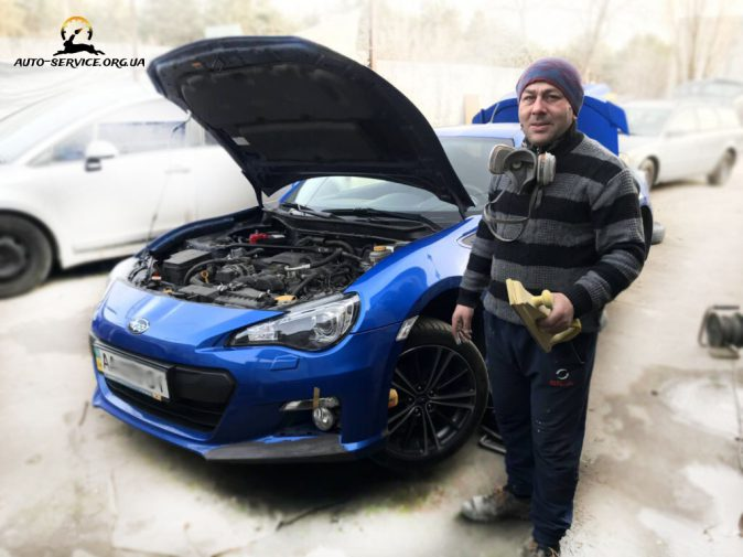 Полировка стекла авто Киев